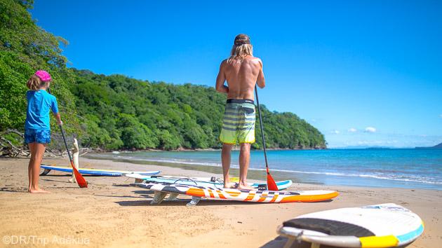 SUP, surf et découverte du Costa Rica pour un séjour en famille