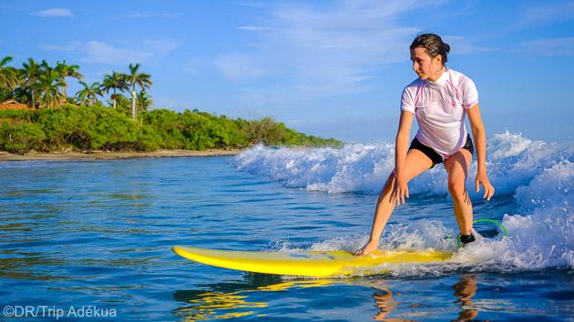 Progressez en surf sur les meilleurs spots du Costa Rica