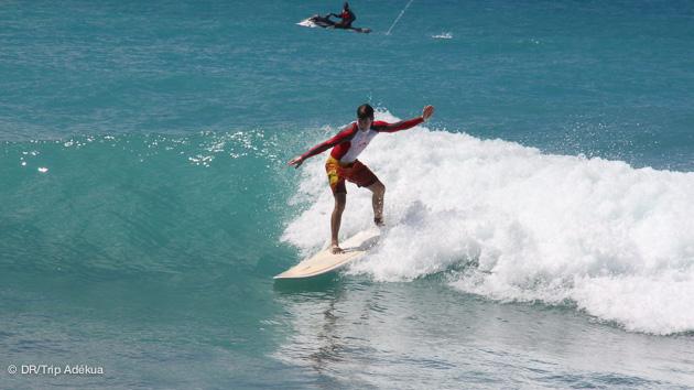 premiers surfs à Saint Martin pendant vos vacances