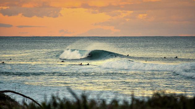 spot de surf avec peu de monde à Old Bar