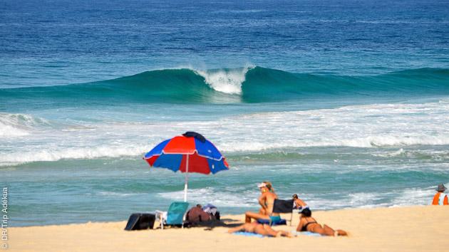 bonnes petites conditions de surf en Australie avec Surf Trip Adékua