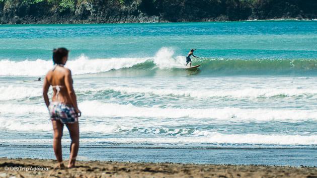 petites conditions de surf mais super bonnes au Panama