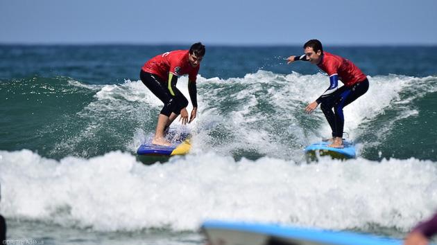 Surfez les meilleures vagues de l'Océan pendant votre séjour à Hossegor